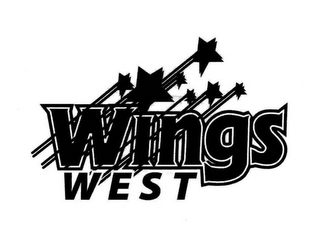 mark for WINGS WEST, trademark #85312555