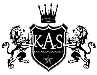 mark for KAS KICKZ AFICIONADO SOCIETY, trademark #85312667