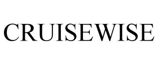 mark for CRUISEWISE, trademark #85313625