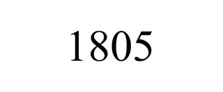 mark for 1805, trademark #85314836