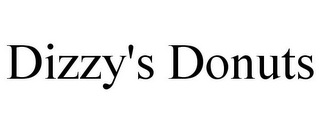 mark for DIZZY'S DONUTS, trademark #85315167