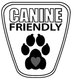 mark for CANINE FRIENDLY, trademark #85315392