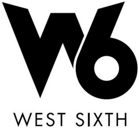 mark for W 6 WEST SIXTH, trademark #85316251