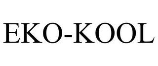 mark for EKO-KOOL, trademark #85316823