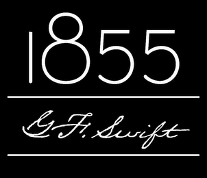 mark for 1855 G F. SWIFT, trademark #85317235