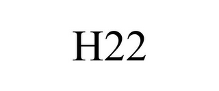 mark for H22, trademark #85317437