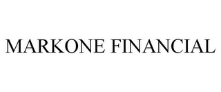 mark for MARKONE FINANCIAL, trademark #85317947