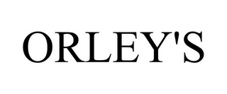 mark for ORLEY'S, trademark #85318044