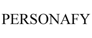 mark for PERSONAFY, trademark #85318535