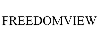 mark for FREEDOMVIEW, trademark #85318595