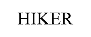 mark for HIKER, trademark #85318957