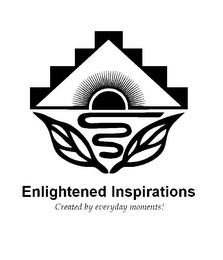 mark for ENLIGHTENED INSPIRATIONS CREATED BY EVERYDAY MOMENTS!, trademark #85319702
