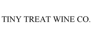mark for TINY TREAT WINE CO., trademark #85319841