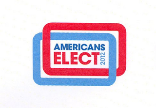 mark for AMERICANS ELECT 2012, trademark #85319972
