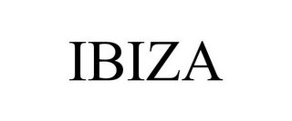 mark for IBIZA, trademark #85320555