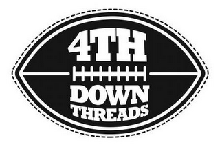 mark for 4TH DOWN THREADS, trademark #85320663