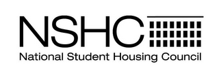 mark for NSHC NATIONAL STUDENT HOUSING COUNCIL, trademark #85320667