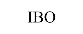 mark for IBO, trademark #85320921