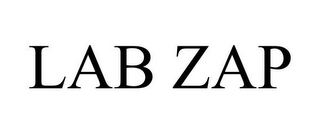 mark for LAB ZAP, trademark #85321429