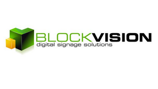 mark for BLOCKVISION DIGITAL SIGNAGE SOLUTIONS, trademark #85321673