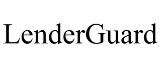 mark for LENDERGUARD, trademark #85321958