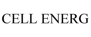 mark for CELL ENERG, trademark #85321980