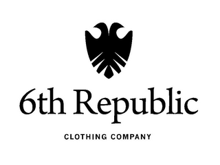 mark for 6TH REPUBLIC CLOTHING COMPANY, trademark #85322225