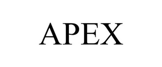 mark for APEX, trademark #85322759