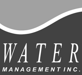 mark for WATER MANAGEMENT INC., trademark #85323874