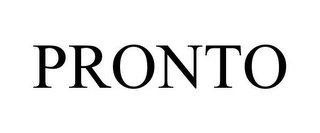 mark for PRONTO, trademark #85324592