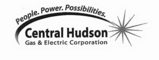 mark for PEOPLE. POWER. POSSIBILITIES. CENTRAL HUDSON GAS & ELECTRIC CORPORATION, trademark #85327159