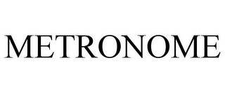 mark for METRONOME, trademark #85327333