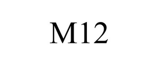 mark for M12, trademark #85327734