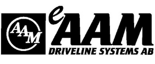 mark for AAM EAAM DRIVELINE SYSTEMS AB, trademark #85328899