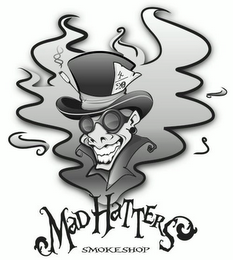 mark for MAD HATTER'S SMOKE SHOP 4/20, trademark #85329423