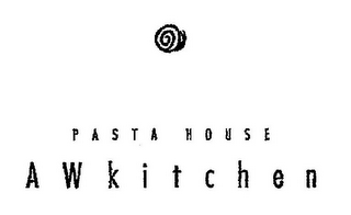 mark for PASTA HOUSE A W KITCHEN, trademark #85329631