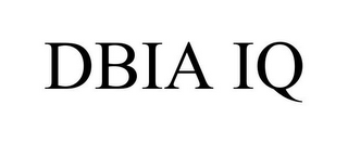 mark for DBIA IQ, trademark #85329987