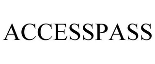 mark for ACCESSPASS, trademark #85330386