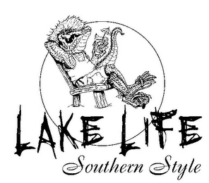 mark for LAKE LIFE SOUTHERN STYLE, trademark #85330850