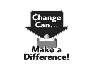 mark for CHANGE CAN MAKE A DIFFERENCE!, trademark #85331558