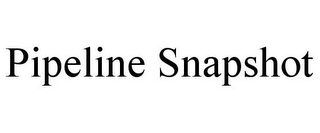 mark for PIPELINE SNAPSHOT, trademark #85331612