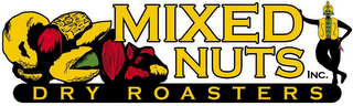 mark for MIXED NUTS INC. DRY ROASTERS, trademark #85331653