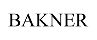 mark for BAKNER, trademark #85332668