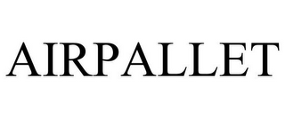 mark for AIRPALLET, trademark #85332699
