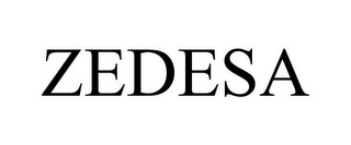 mark for ZEDESA, trademark #85332944