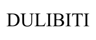 mark for DULIBITI, trademark #85333526