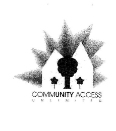 mark for COMMUNITY ACCESS UNLIMITED, trademark #85334636