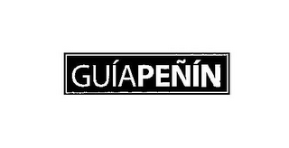 mark for GUÍAPEÑÍN, trademark #85334956