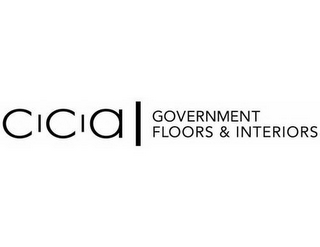mark for CCA GOVERNMENT FLOORS & INTERIORS, trademark #85335216