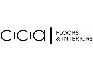 mark for CCA FLOORS & INTERIORS, trademark #85335223